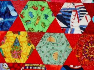 Quilting Detail - front