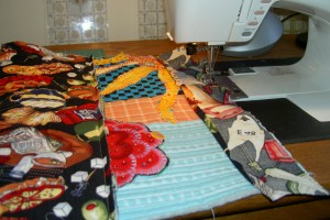 Sewing Facing for A & B
