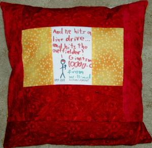 Resource Teacher Pillow back