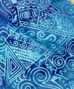 Batik Fabric, detail