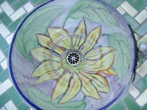 Flower Tile Fountain