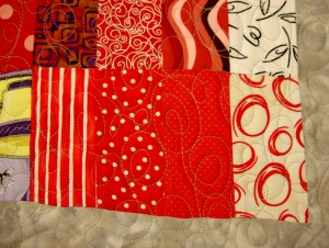 Quilting, detail