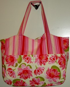 Candy Tote with Flowers