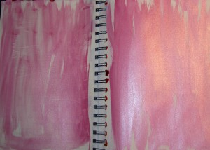 Pink Sparkly Pages