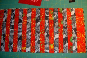 Pencil Roll - strips