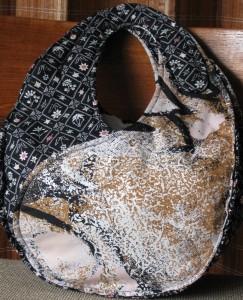 Faye's Black, Brown & White Ying Yang Bag