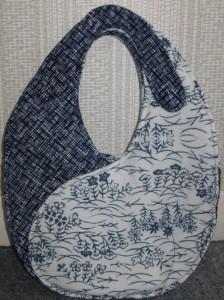 Faye's Black & White Ying Yang Bag