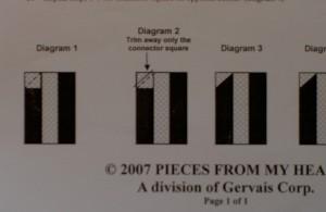 Adding Corner Pieces - directions