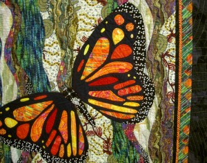 Butterfly Quilt by Dale Fleming (detail)