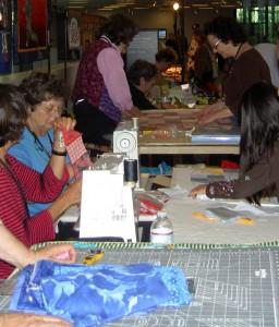 Sewing CQP Blocks