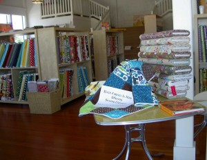 Birch Fabrics Back Towards the Storeroom