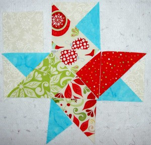 Frosted Star with Turquoise