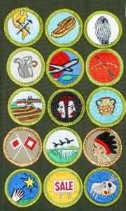 Merit Badges October 2010
