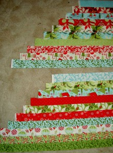Frosted Stars Border Strips
