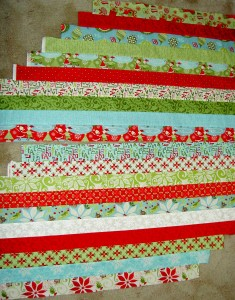 Frosted Stars Border Strips 2