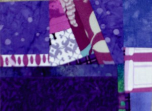 Purple Mosaic Sewing
