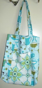 Jane Market Tote in Monaluna fabric