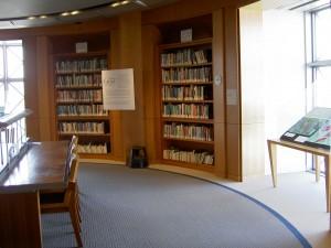 Stegner Center Shelves