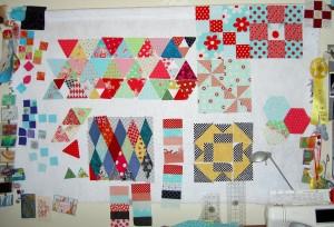 Design Wall 4/28/2011