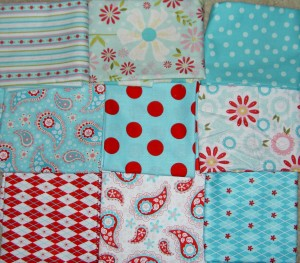 Quilted Fish Fabrics