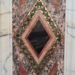 Ventian Glass Diamond Column