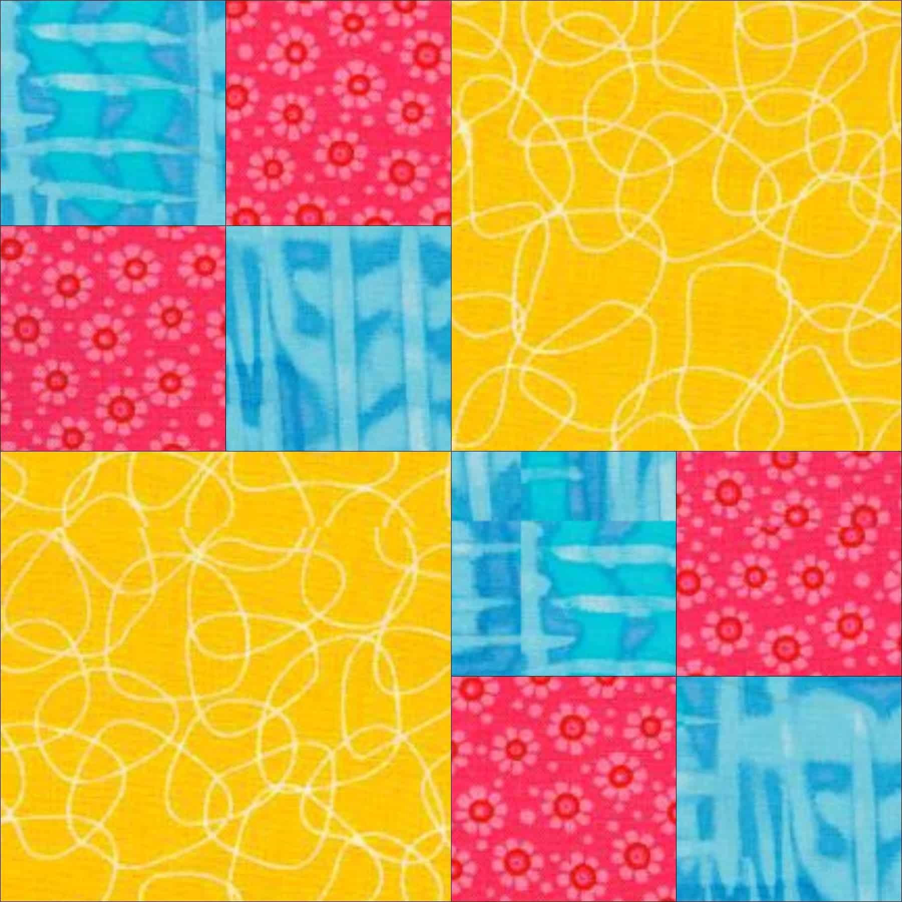 Block A Long 30 Double Four Patch Artquiltmaker Blog