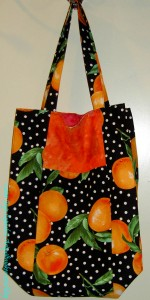 Orange Jane Market Tote