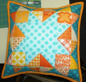 Kathleen's Secret Swap Pillow 2011