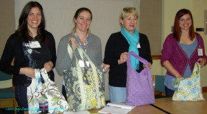 2011 Officers with Gift Bags