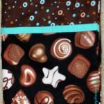 Chocolate Pillowcase - detail