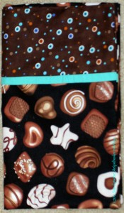 Chocolate Pillowcase - detail