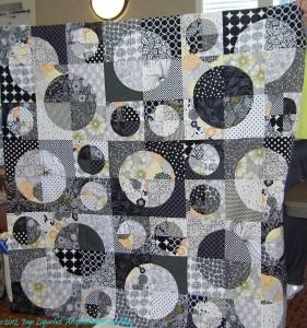 Reva's Black & White Piece