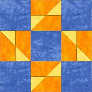 Diagonal 9 Patch #43