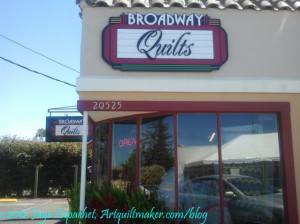 Broadway Quilts, Sonoma