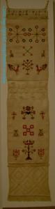 Elizabeth Bogfholder Towel, 1831