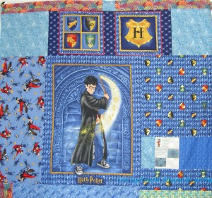 Infinity Quilt back