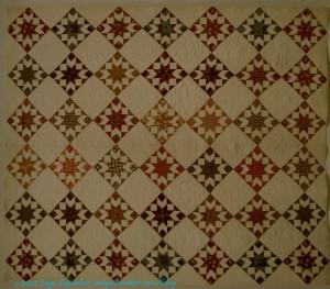 Star Variation Quilt, 1831