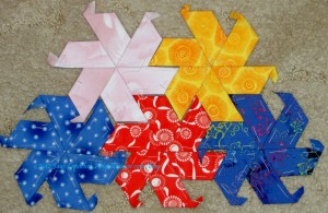 Half Hexagon Stars