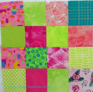 Pink & Green Donation Block #3