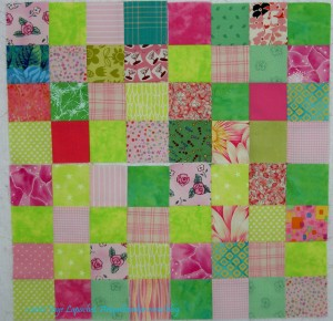 4 Pink & Green Donation blocks