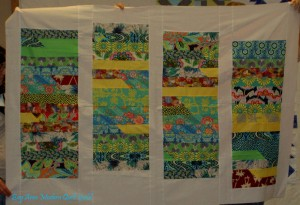Peggy's Jelly Roll quilt