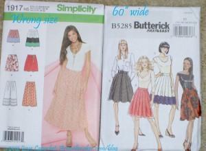 Skirt Patterns, annotated