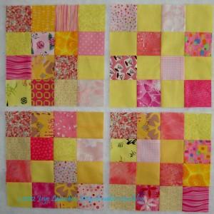 Donation blocks 1-4/Yellow & Pink