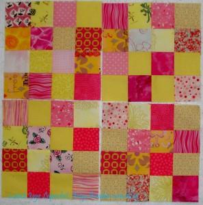 Donation blocks 5-8/Yellow & Pink