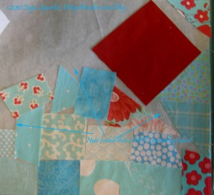 Cover fusible with fabric