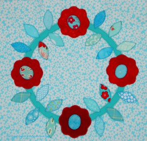 Fusible Machine Applique' Block