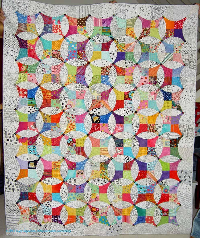 Finished Flowering Snowball Artquiltmaker Blog