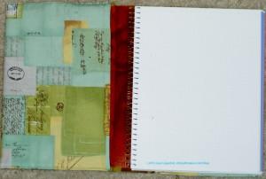 Letter Journal Open