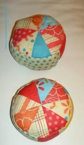 Pincushions in progress
