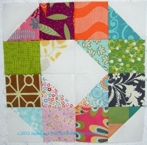 Patchwork Wheel #9